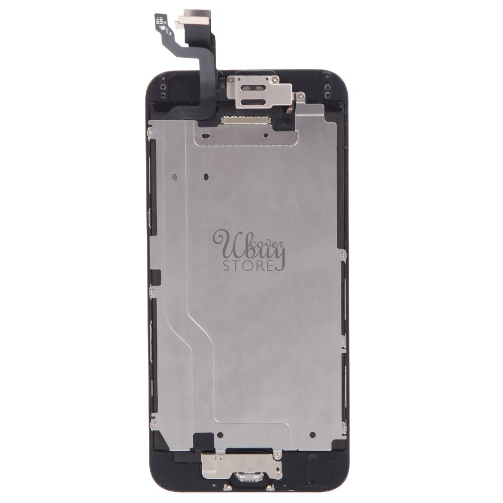 Iphone 6 Black Display Assembly With Front Camera And Home Housing Original Fullset 5g Lcd Touch Screen Digitizer Button Full